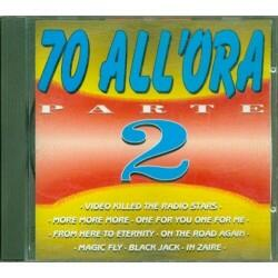 (CD) Various ‎– 70 All'Ora...