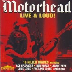 (CD) MotorHead - Live & Loud!