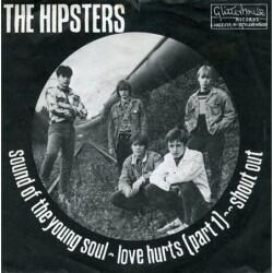"""(Vinyl 7"""")    The Hipsters..."""